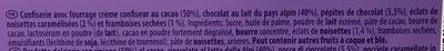 Melty Framboises, noisettes et pépites de chocolat - Ingrédients - fr