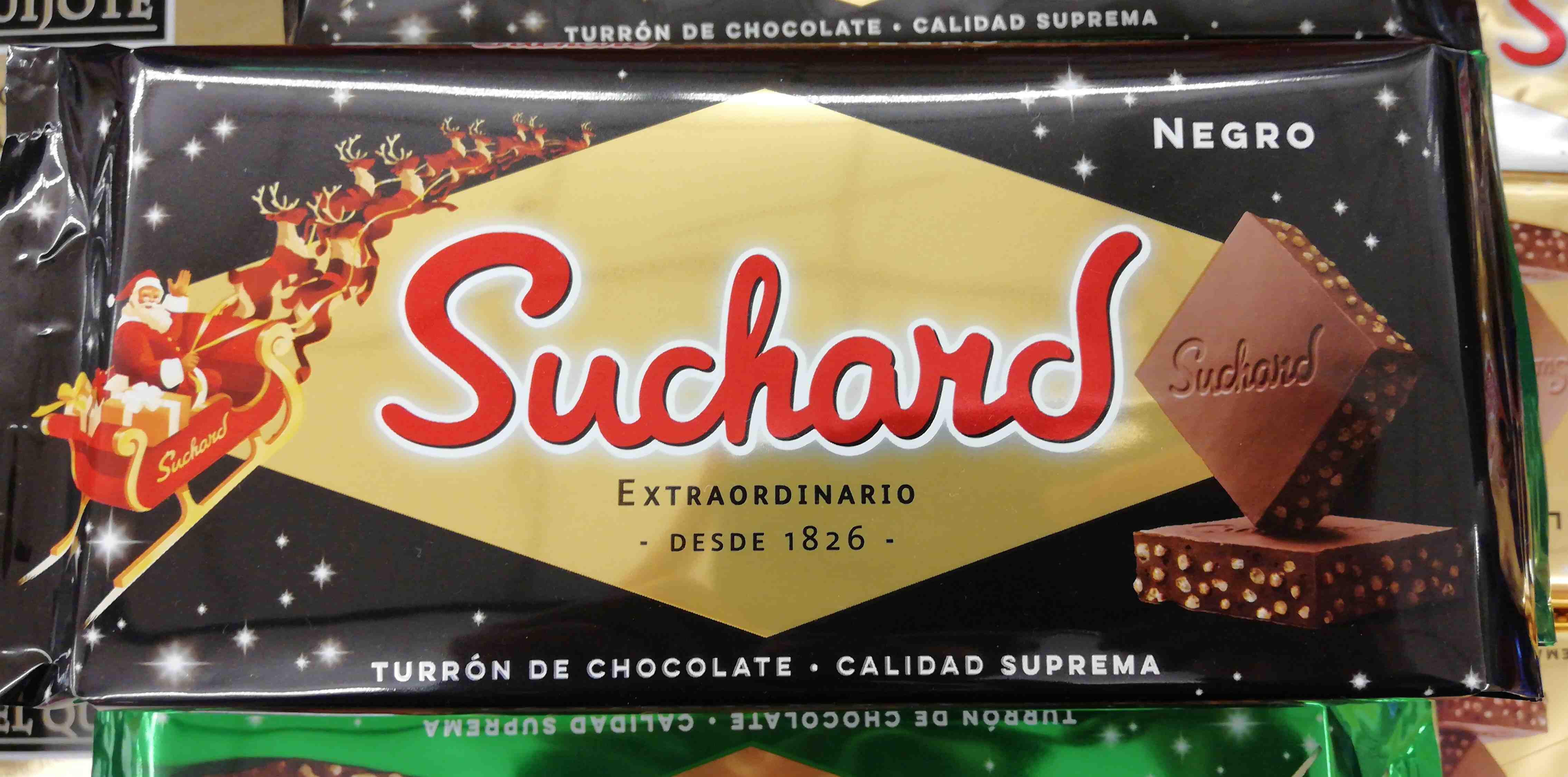 Turrón Chocolate Negro - Producto - es