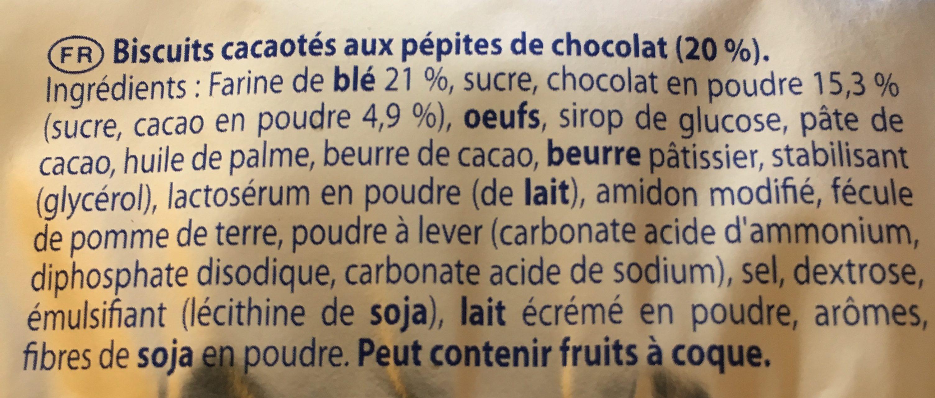 Granola Cœur Extra Moelleux Tout Chocolat - Ingredients - fr