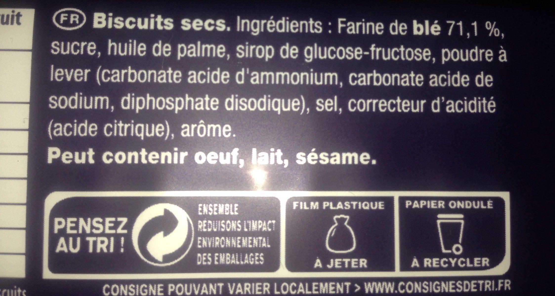 Petit Brun Extra - Ingrédients - fr
