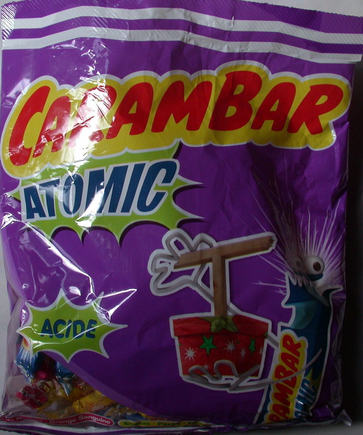 Carambar Atomic - Produit