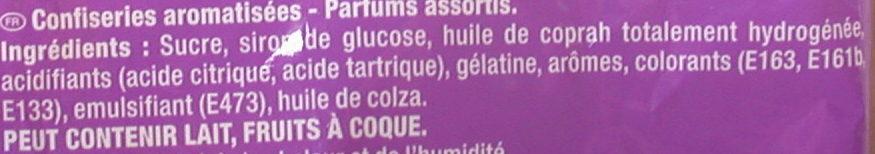 Carambar Atomic - Ingrédients