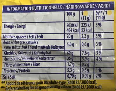 Oreo Golden - Voedingswaarden - fr