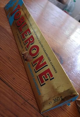 Toblerone crunchy almonds - Produit