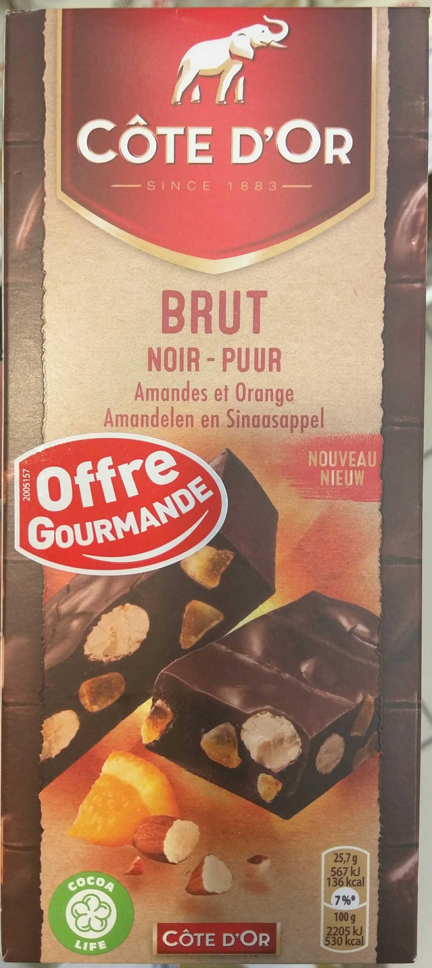 Brut Noir Amandes et Orange - Product - fr
