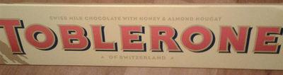 Toblerone Chocolate Con Leche - Producte
