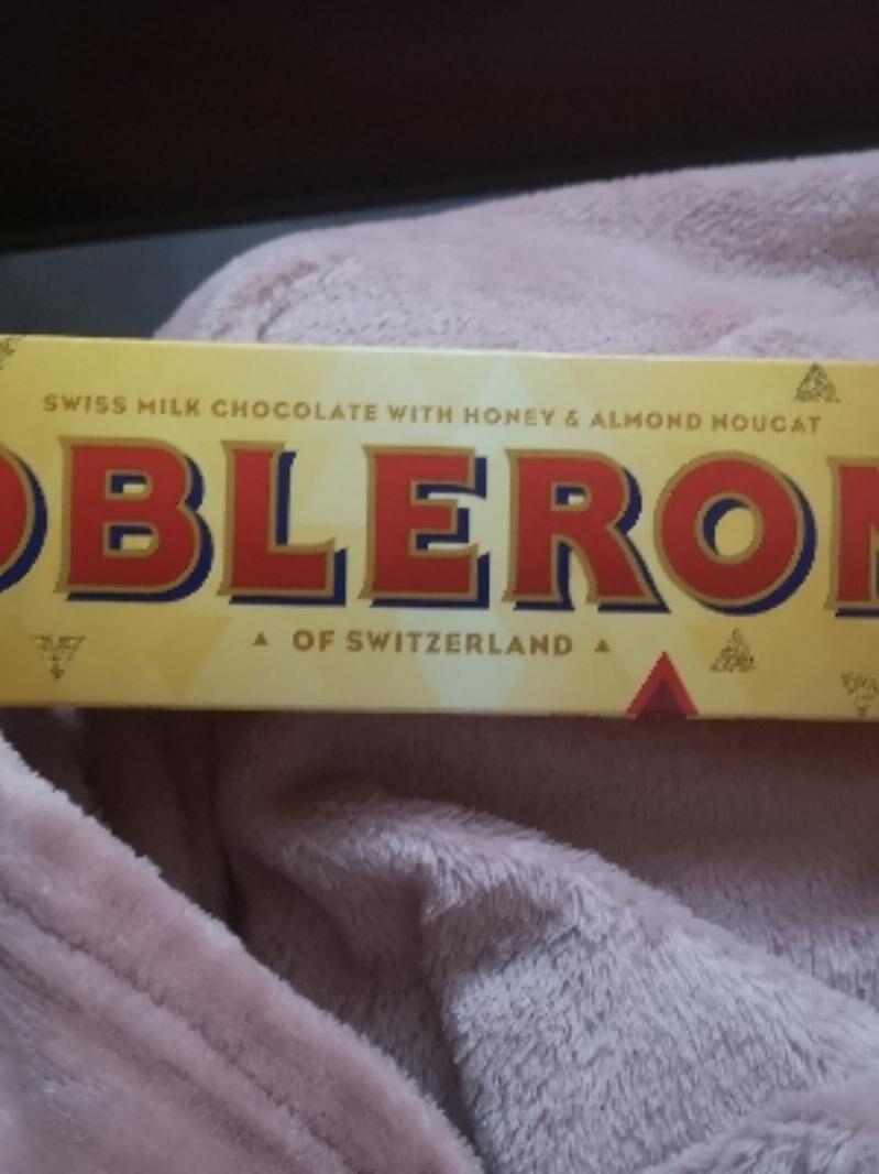 Toblerone chocolate bar milk - Product - en
