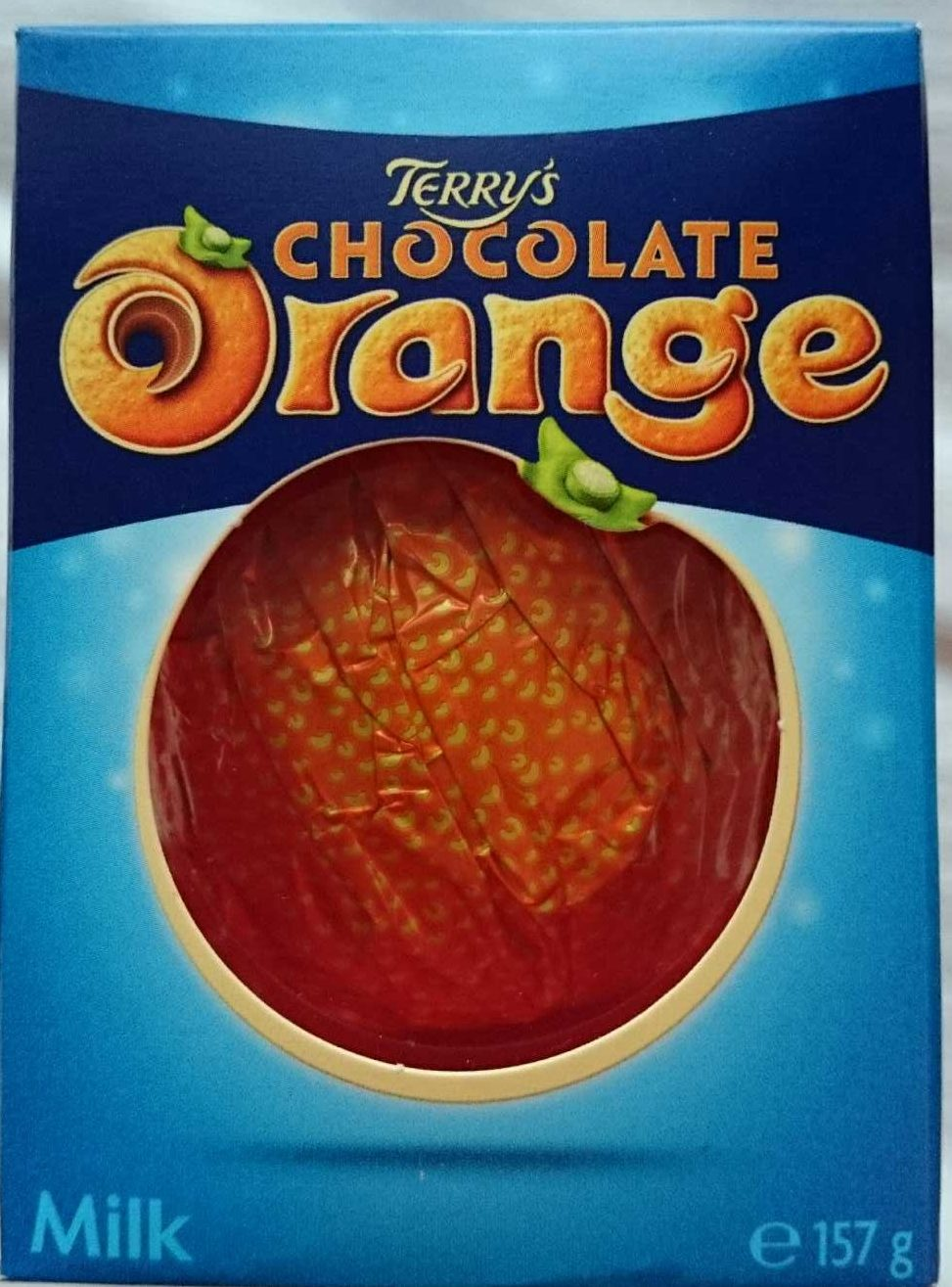 Terry's chocolate orange chocolate ball - Product - en