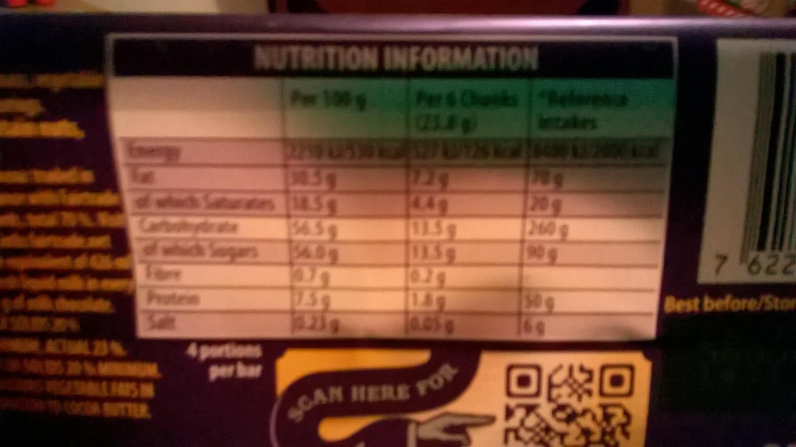 Cadbury 95GM Dairy Milk - Produit