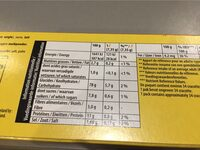 Cracotte Tartines craquantes au froment le lot de 3 paquets de - Informations nutritionnelles - fr