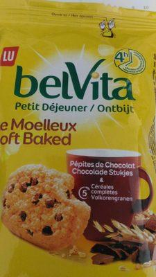 Belvita Le Moelleux - Pépites de Chocolat - Product - fr
