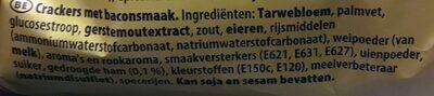 Smoky bacon - Ingrediënten - nl