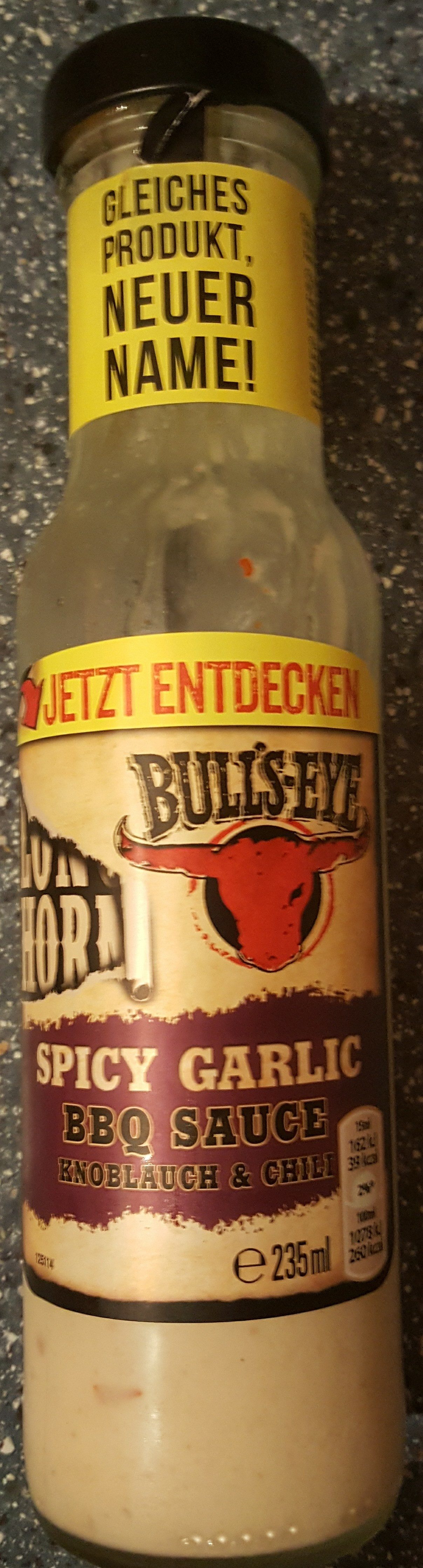 Bull´s eye BBQ Sauce Spicy Garlic - Product