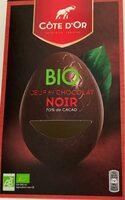 Oeuf au chocolat noir - Prodotto - fr