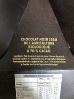 Oeuf au chocolat noir - Ingredienti - fr