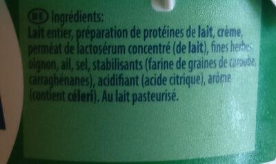Ail Et Fines Herbes - Ingredienti - nl