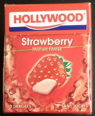 Chewing-gum strawberry parfum fraise - Product