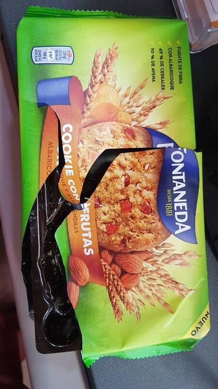 Cookie con frutas - Producte