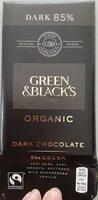 Dark chocolate 85% cocoa - Product - en