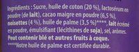 Patamilka - Ingredients