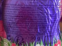 Lapin en chocolat au lait - Valori nutrizionali - fr