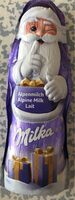 Père Noël en chocolat au lait - Nährwertangaben - fr