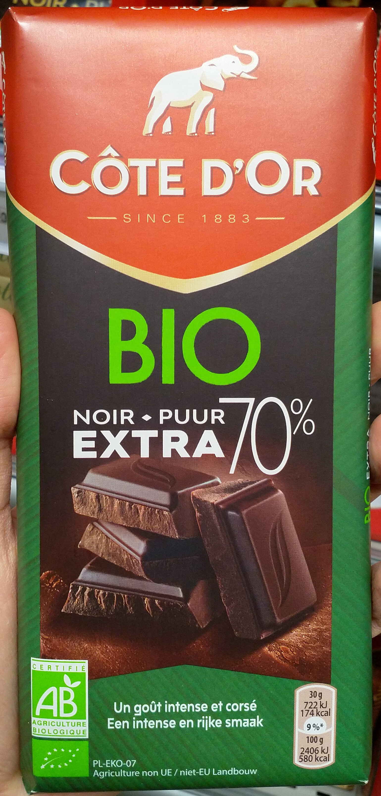 Bio extra noir - Produit - fr