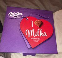 Milka pralinés - Product - fr