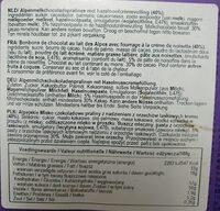 Milka pralinés - Ingrediënten - fr