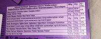 Milka pralinés - Voedingswaarden - fr