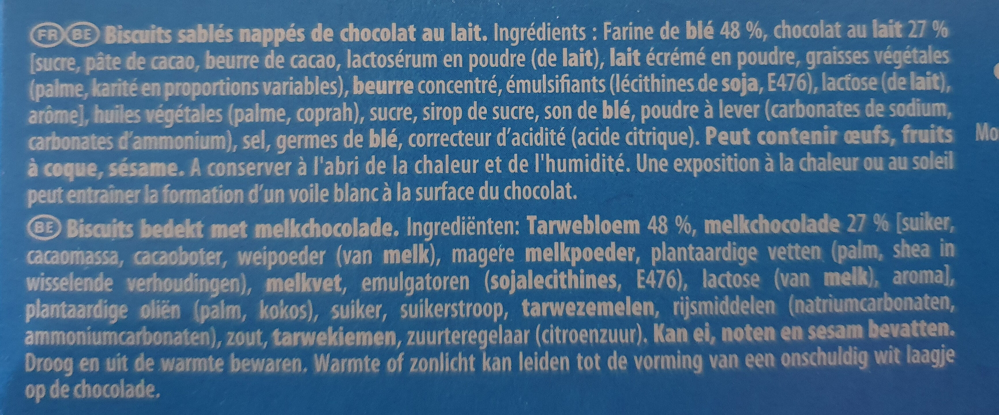 Granola - L'original - Ingrédients - fr