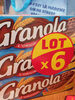Granola - Biscuits sablés nappés de chocolat au lait - Product
