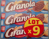 Biscuits chocolat lait Granola - Product