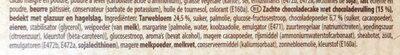 Lu moelleux TRIO - Ingrediënten - nl