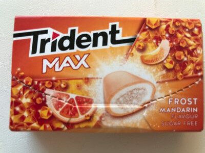 Trident Max - Frost Mandarin - Producto