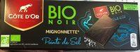 Mignonette bio noir - Product