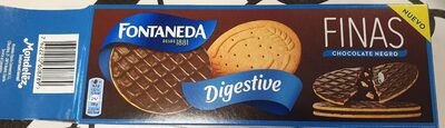 Digestive finas chocolate negro - Producte - es