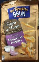 Les recettes belin fines au four goût fromage frais et oignon - Producto