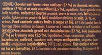 Encore Noir - Ingrediënten - fr
