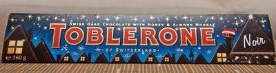 Toblerone Noir - Produit - fr