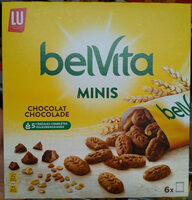 Belvita minis chocolat - Produit - fr