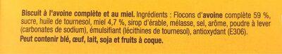 Grany Croquant d'Avoine - Ingrédients - fr