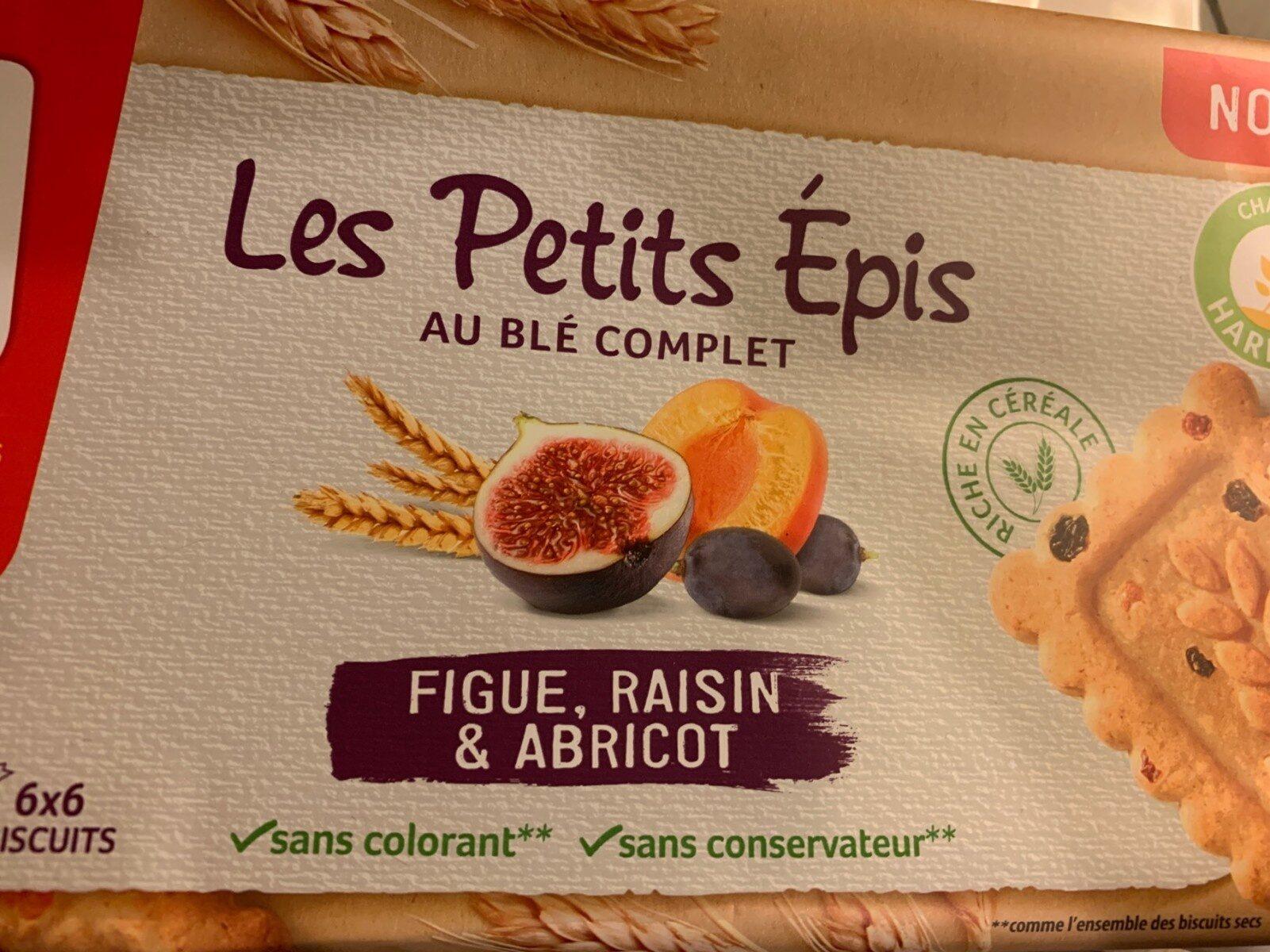 Les Petits Épis figue raisin abricot - Produit - fr