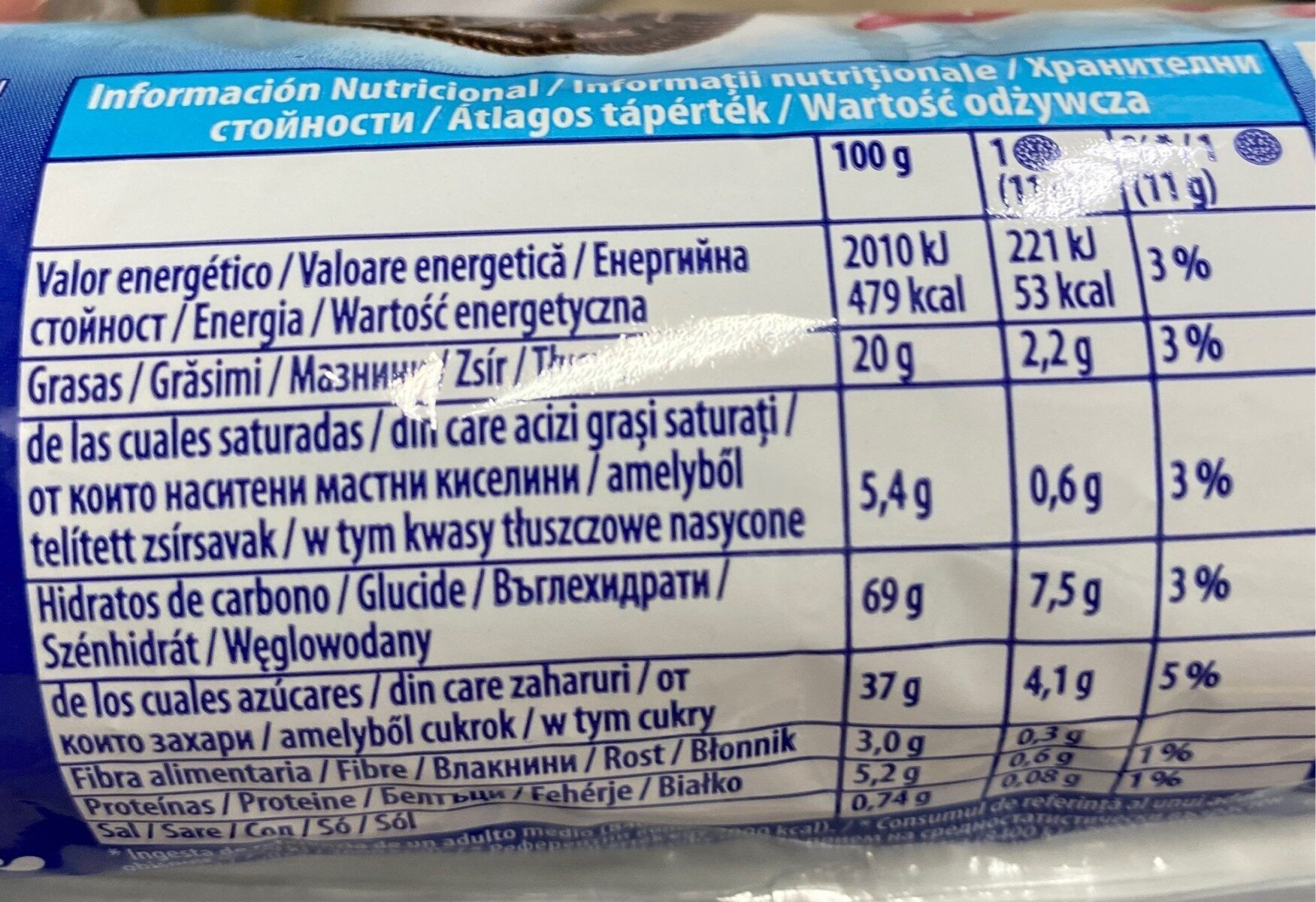 Oreo Strawberry Cheesecake 14er - Informations nutritionnelles - ro