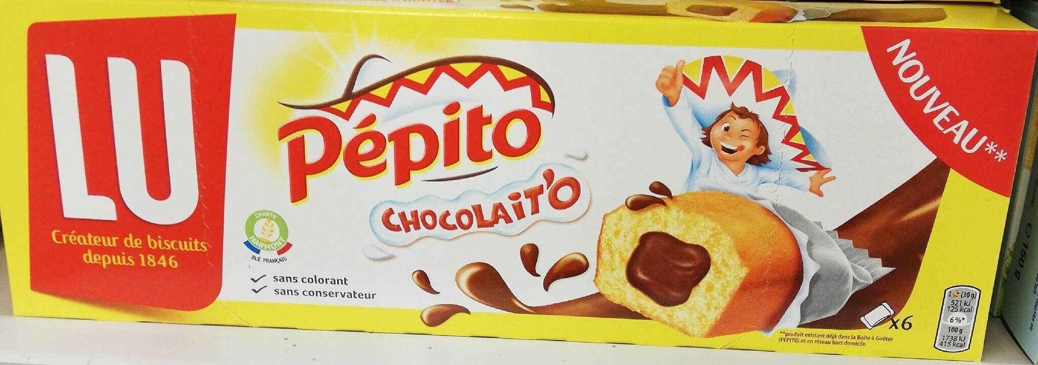Pepito Chocolait'o - Produkt - fr