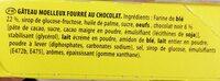 Pepito Chocolait'o - Składniki - fr