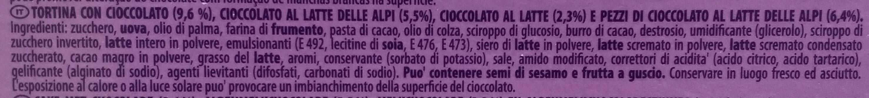 Choco brownie - Ingredienti - it