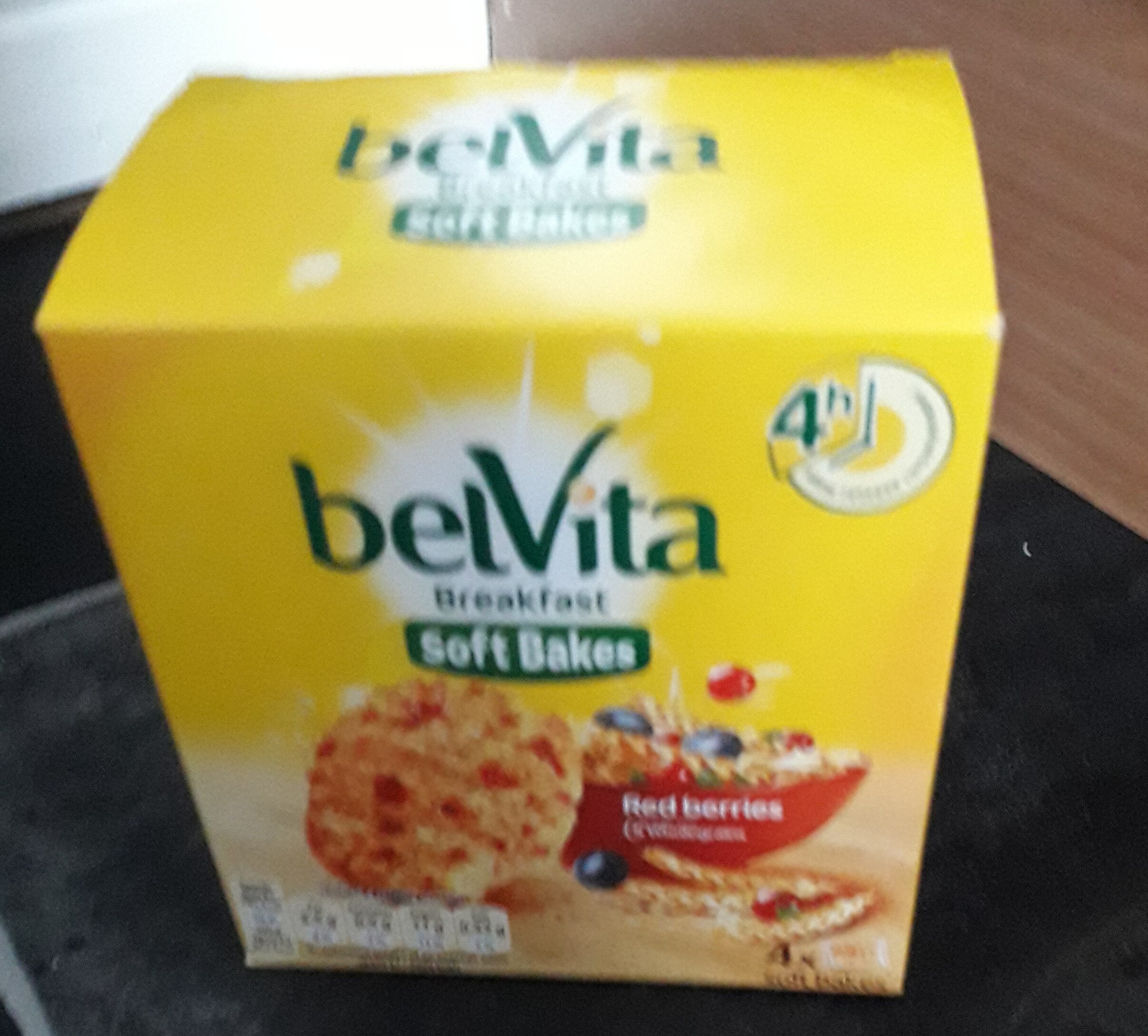 Belvita biscuits red berries - Product