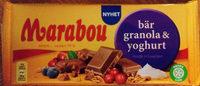 Marabou Bär, granola & yoghurt - Product