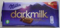 Milka Darkmilk Ciocolată cu lapte alpin - Product